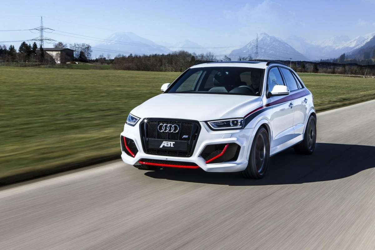 Audi RS Q3 by ABT Sportsline frontale