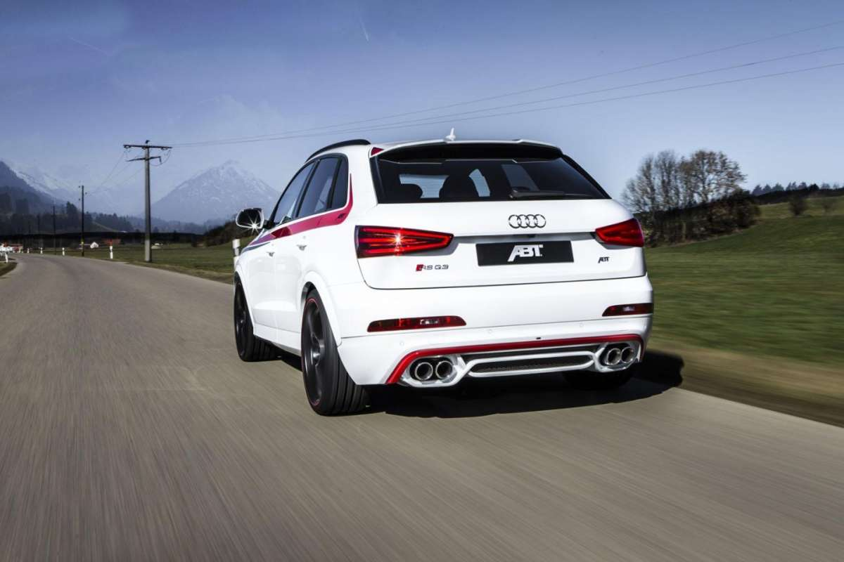 Audi RS Q3 by ABT Sportsline posteriore