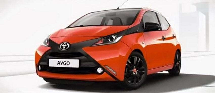 nuovo design Aygo, frontale