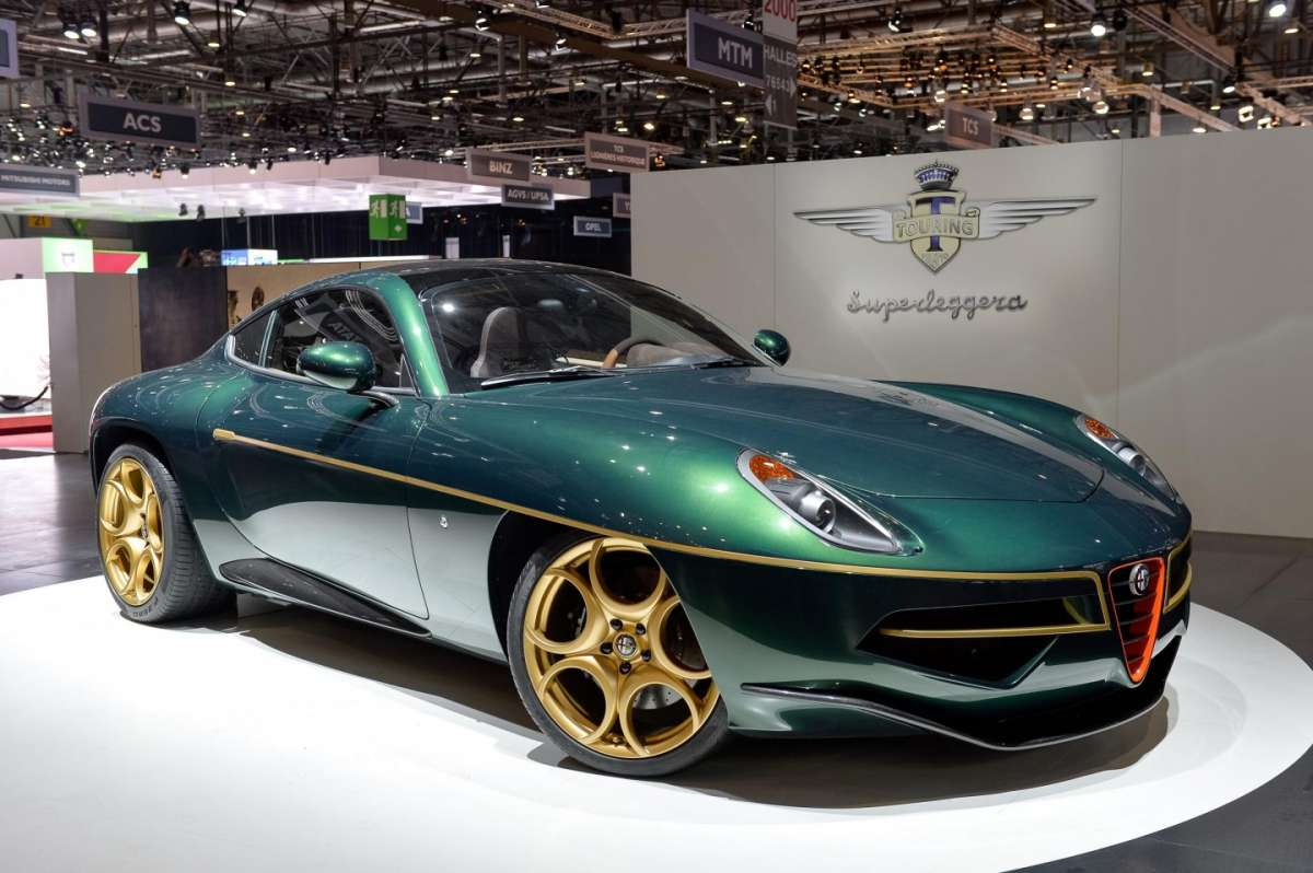 Touring Superleggera Disco Volante, Salone di Ginevra 2014 - 01