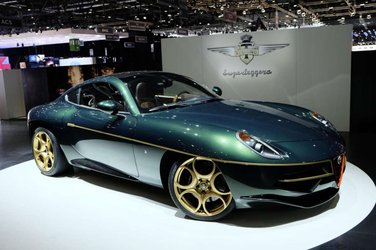 Touring Superleggera Disco Volante, Salone di Ginevra 2014 - 03