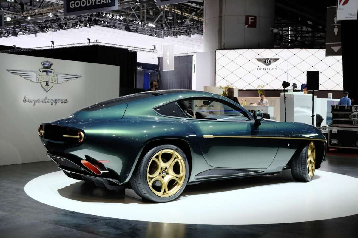 Touring Superleggera Disco Volante, Salone di Ginevra 2014 - 05