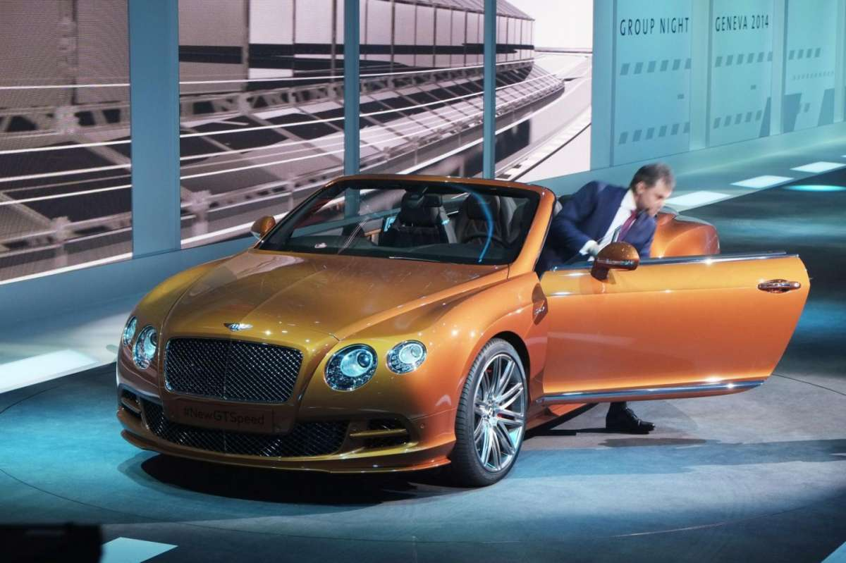 Bentley Continental GTC Speed, Salone di Ginevra 2014