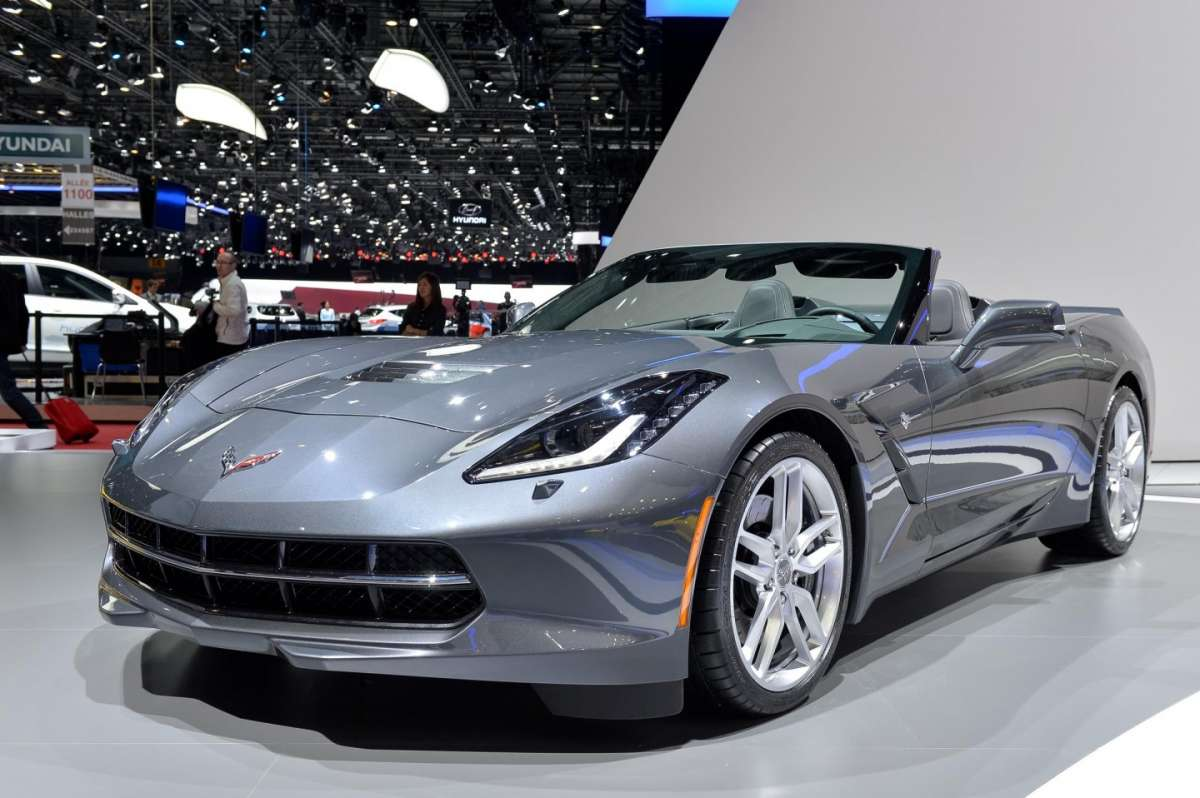 Chevrolet Corvette Stingray convertible, Salone di Ginevra 2014 - 01