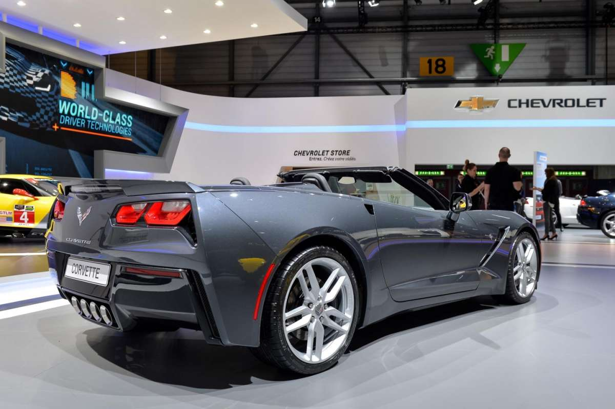 Chevrolet Corvette Stingray convertible, Salone di Ginevra 2014 - 02