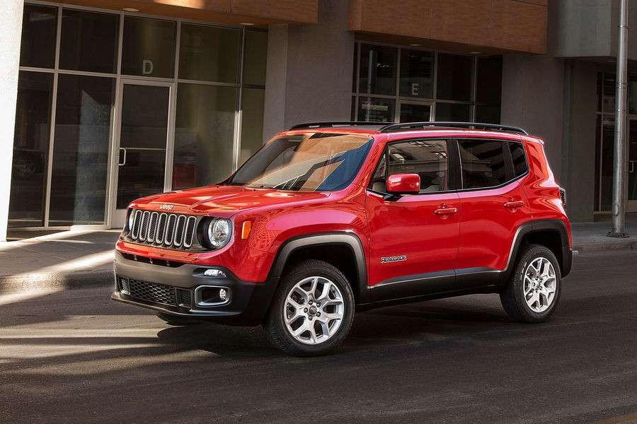 Jeep Renegade 2014 rossa