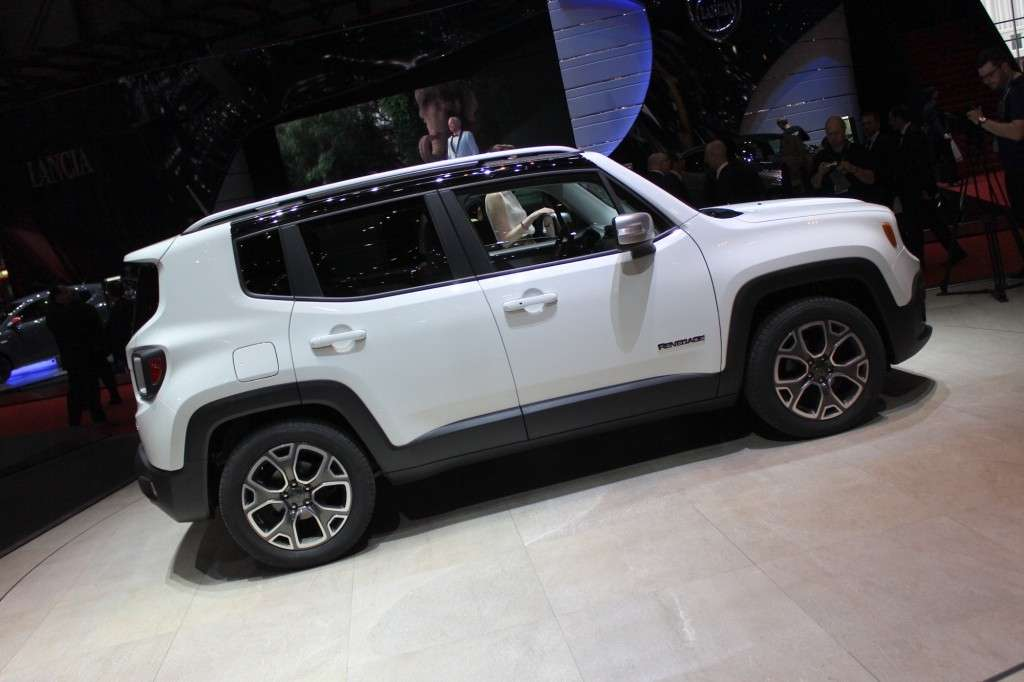 Jeep Renegade 2014 bianca