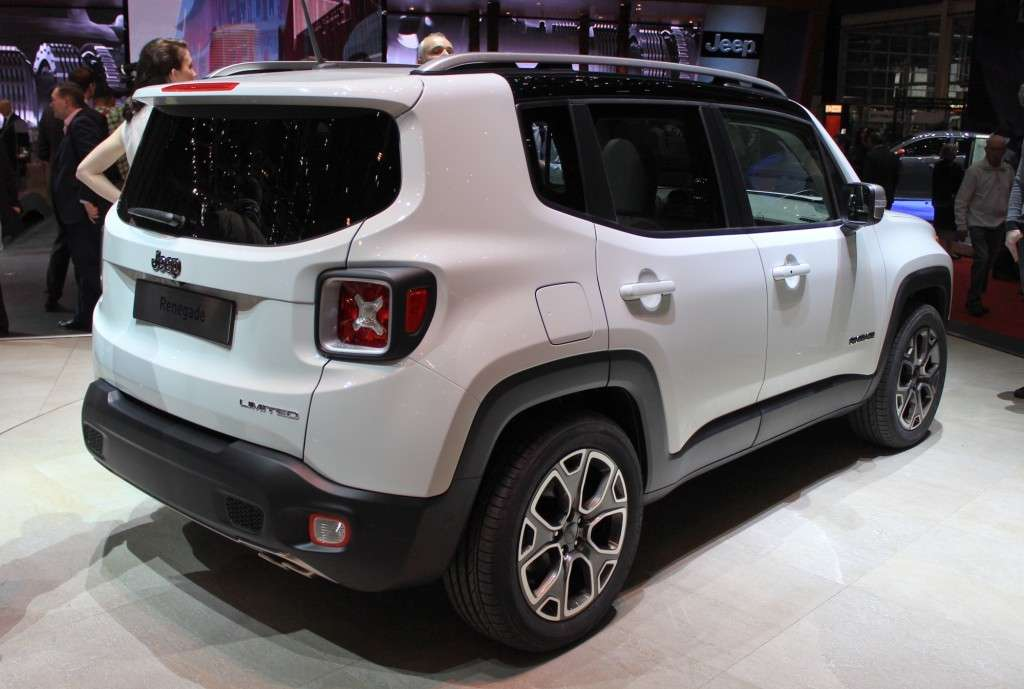 Jeep Renegade 2014 coda