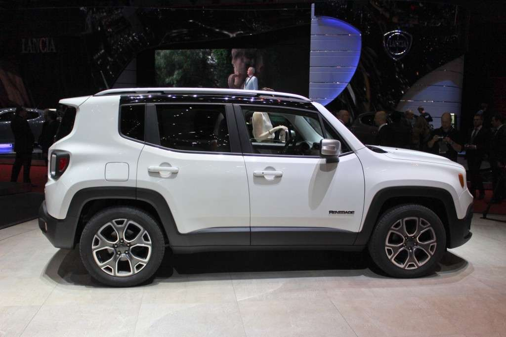 Jeep Renegade 2014 dal vivo