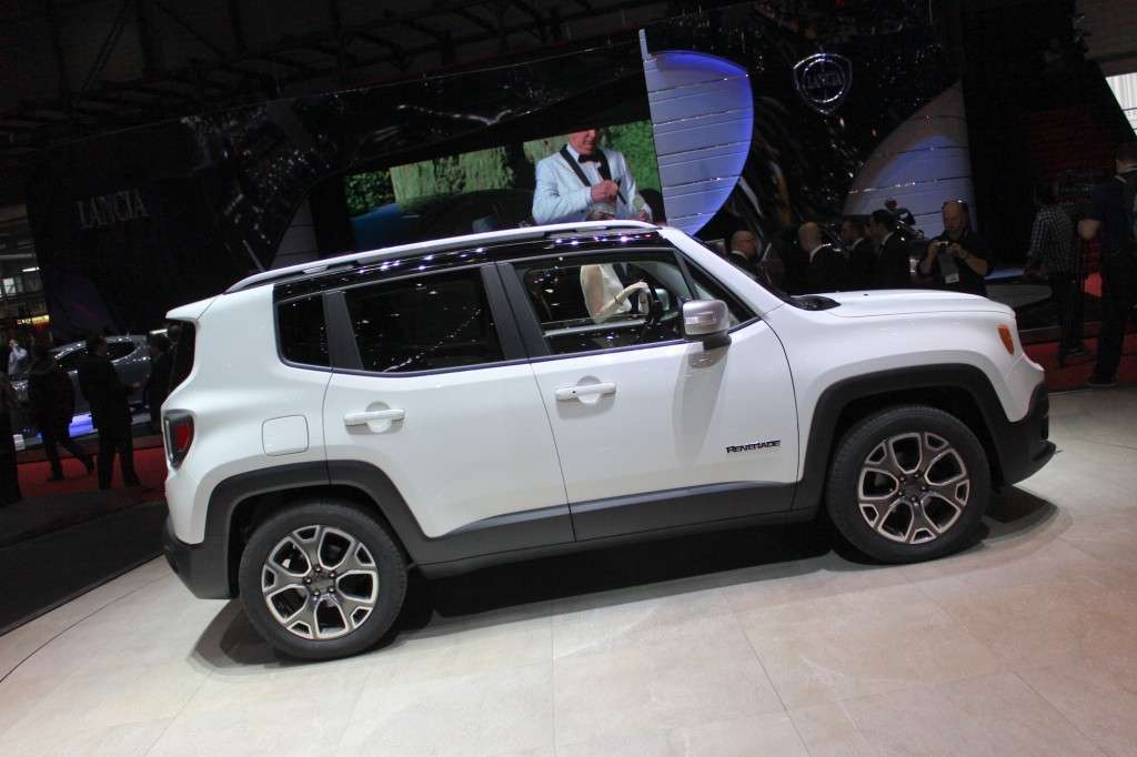 Jeep Renegade 2014 fiancata