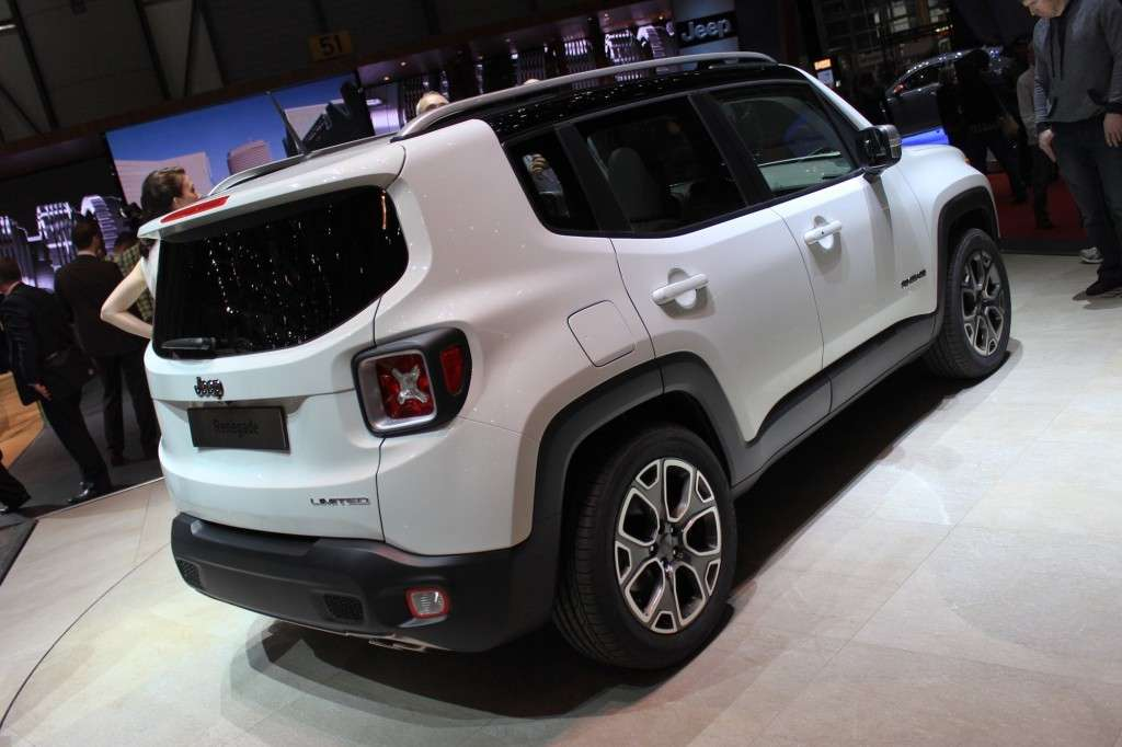 Jeep Renegade 2014 retro