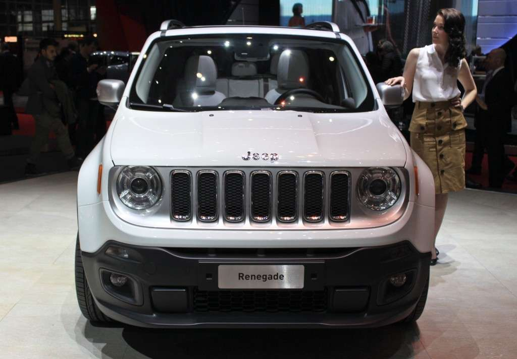 Jeep Renegade 2014 vista da davanti