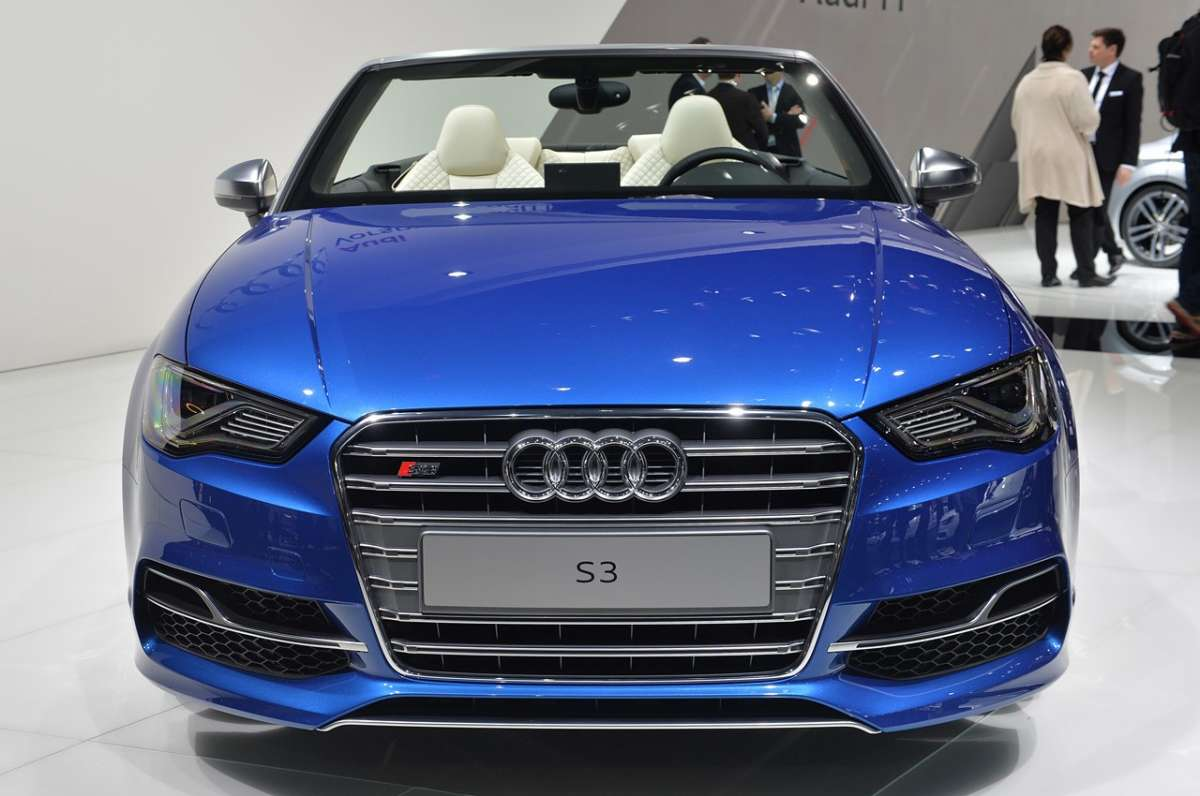 Audi S3 Cabriolet frontale