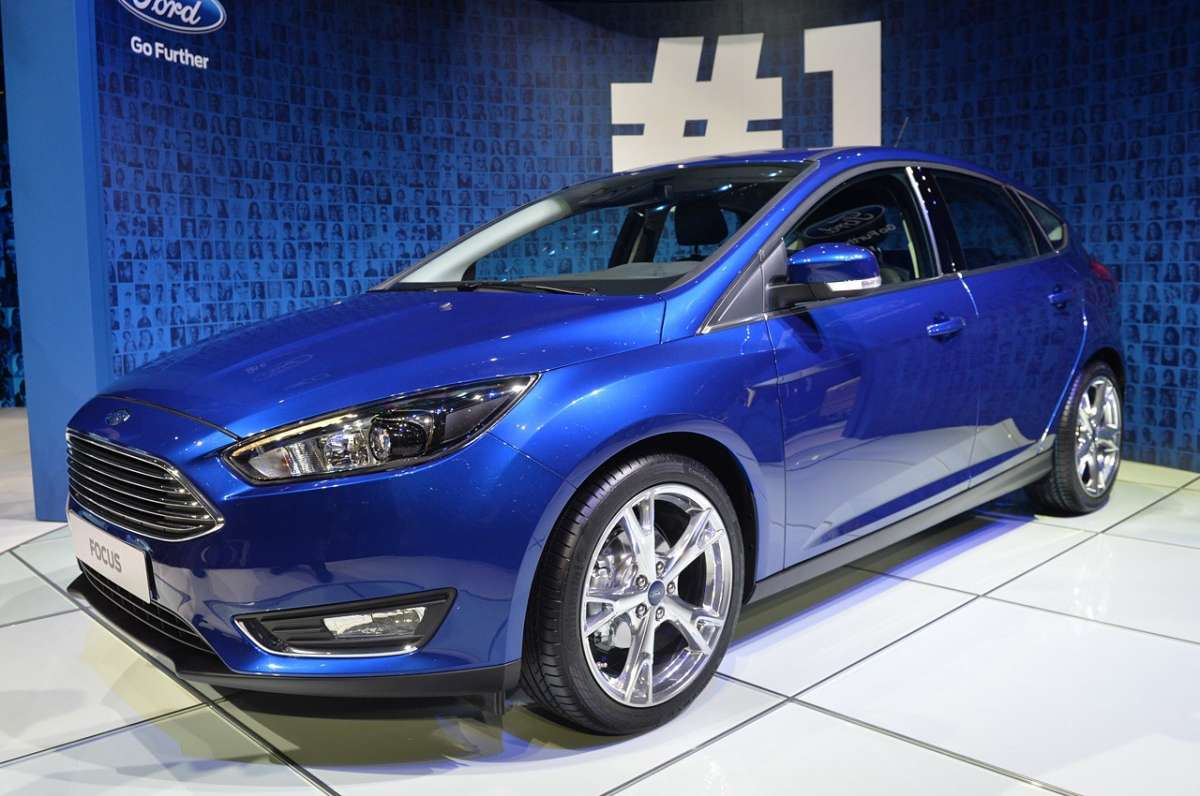 Ford Focus 2014 facelift al Salone di Ginevra 2014