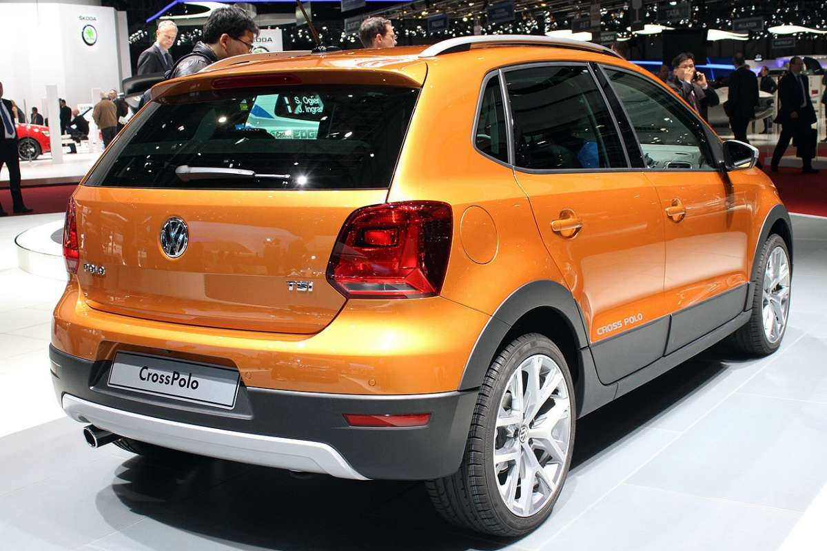 VW Cross Polo restyling posteriore