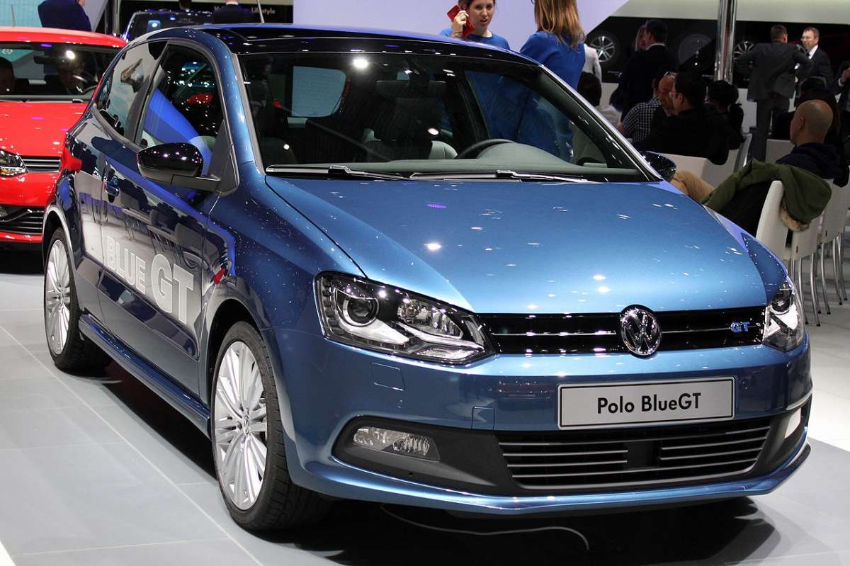 VW Polo BlueGT restyling frontale