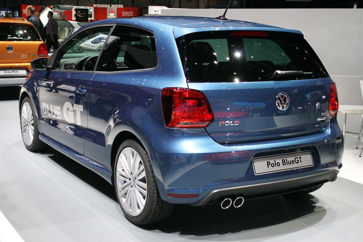 VW Polo BlueGT restyling