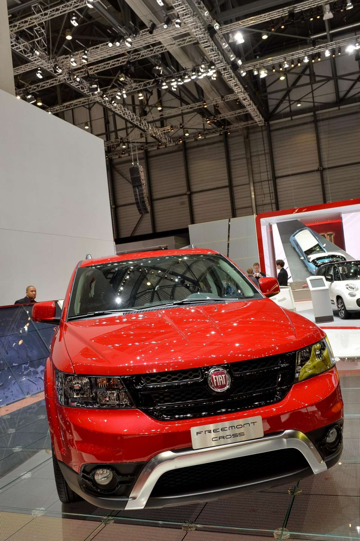 Fiat Freemon Cross, Salone di Ginevra 2014