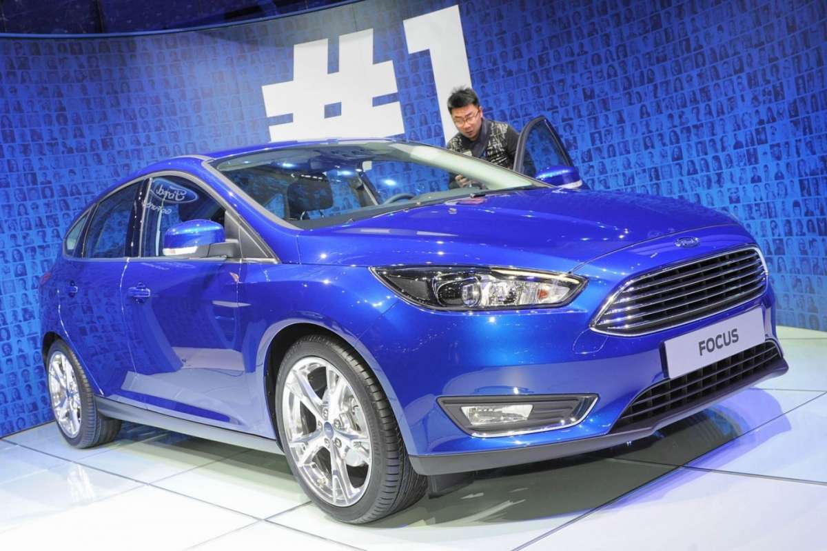 Frontale Ford Focus 2014