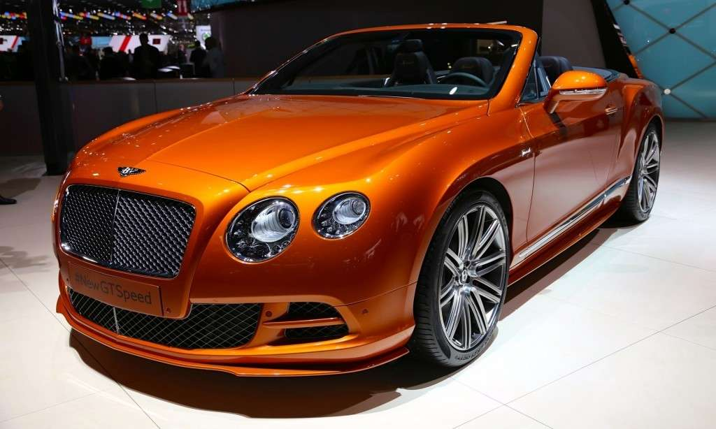 Anteriore Continental GT Speed 2014