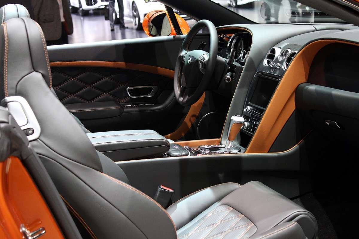 Bentley Continental GT Speed 2014 abitacolo
