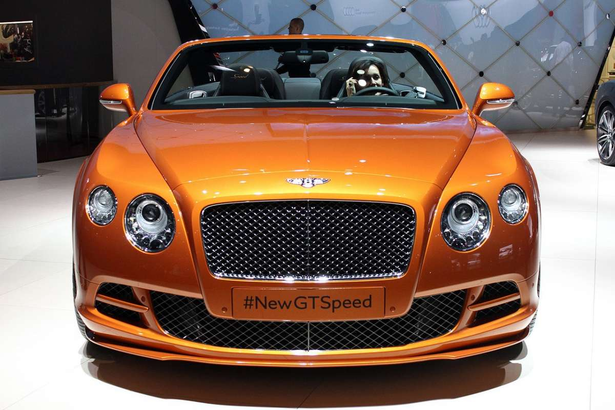 Bentley Continental GT Speed 2014 anteriore