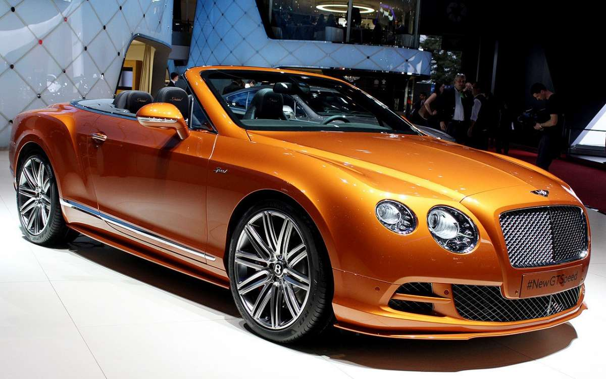 Frontale Bentley Continental GT Speed 2014