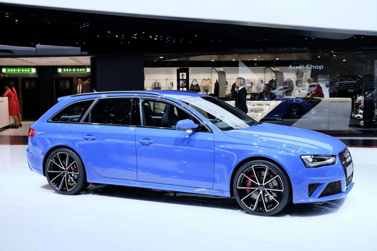 Audi RS4 Avant Nogaro Selection, Salone di Ginevra 2014 - 2