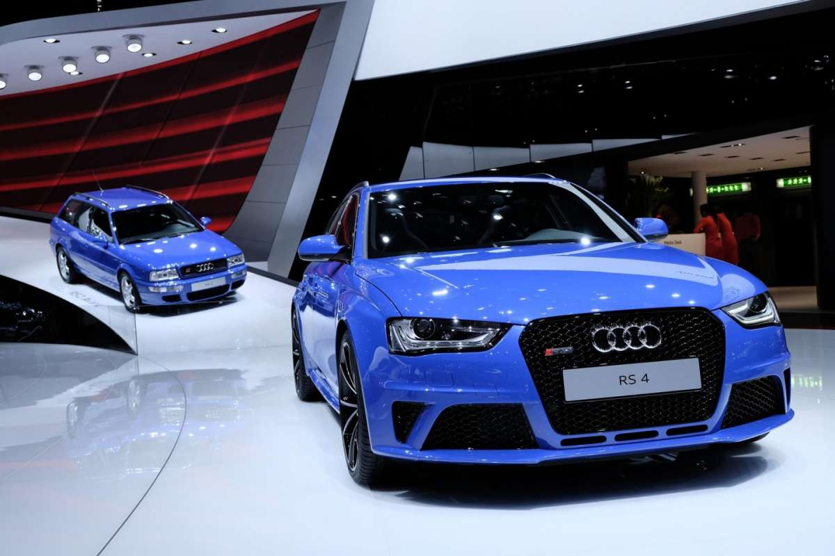 Audi RS4 Avant Nogaro Selection, Salone di Ginevra 2014