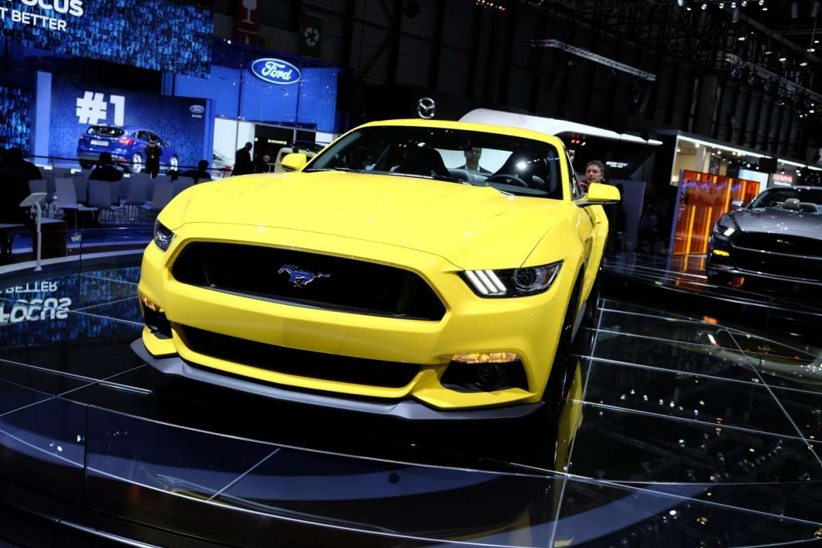 Ford Mustang, Salone di Ginevra 2014 - 01
