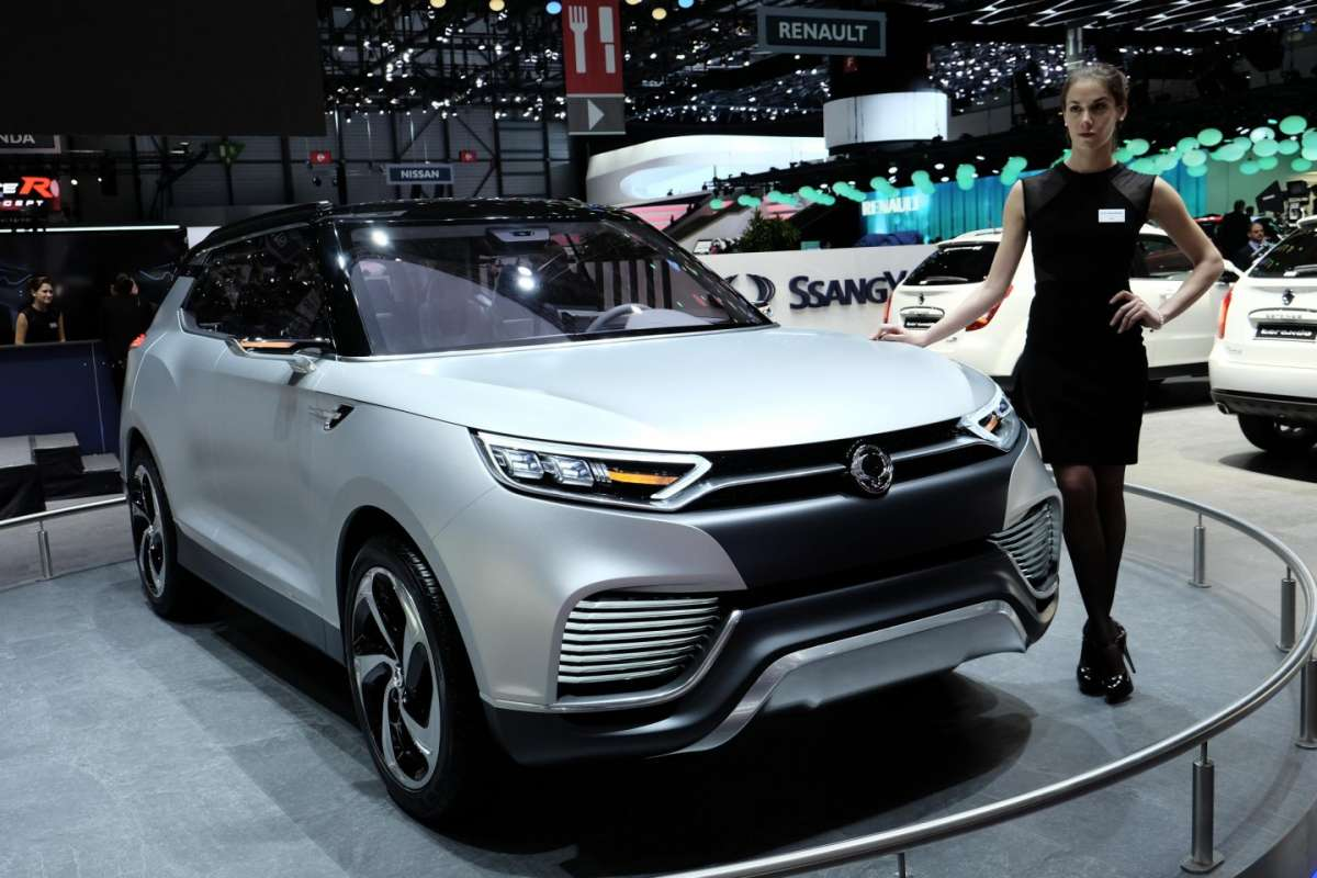 Ssangyong XLV, Salone di Ginevra 2014 - 01