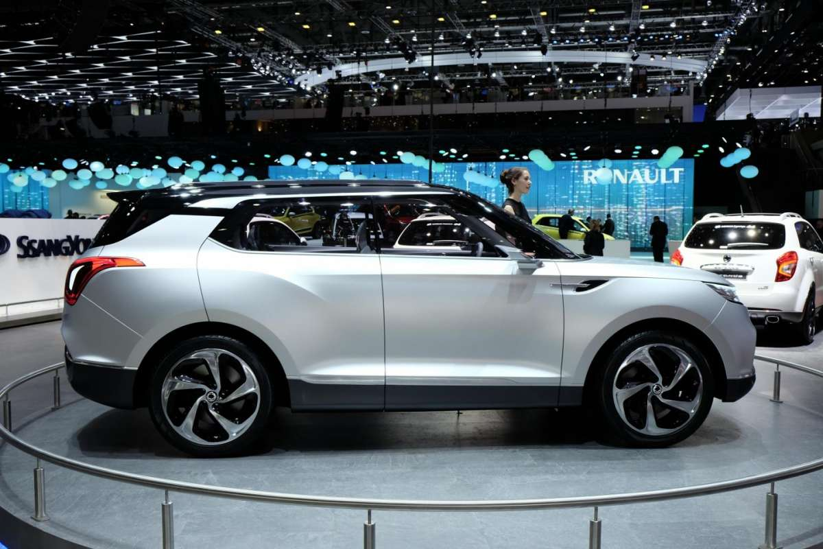 Ssangyong XLV, Salone di Ginevra 2014 - 02