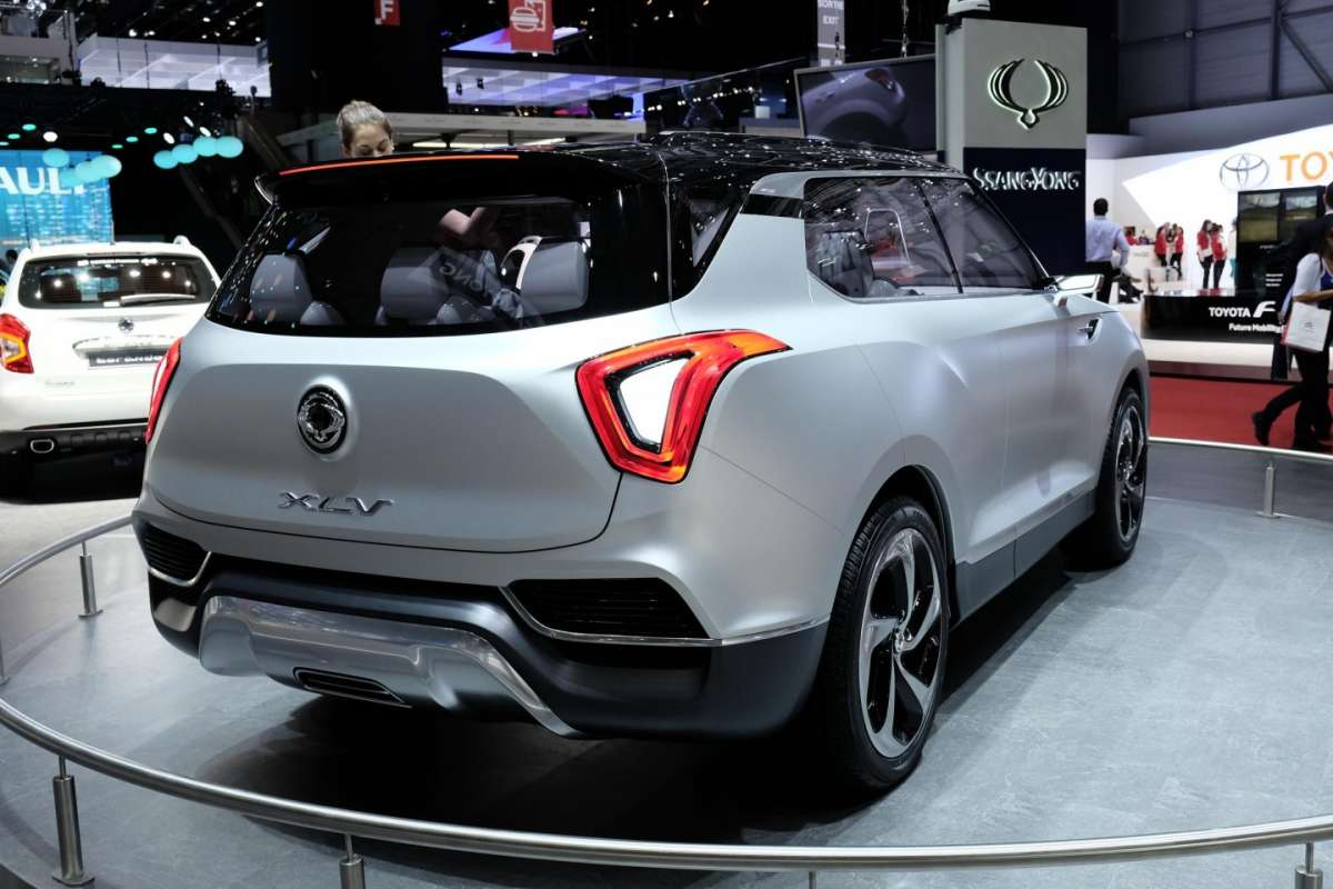 Ssangyong XLV, Salone di Ginevra 2014 - 03