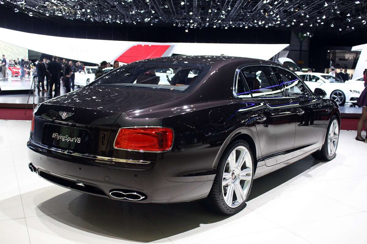 Bentley Continental Flying Spur 2014 coda