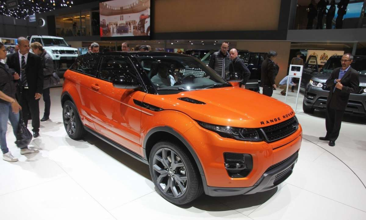 Range Rover Evoque Autobiography Dynamic frontale