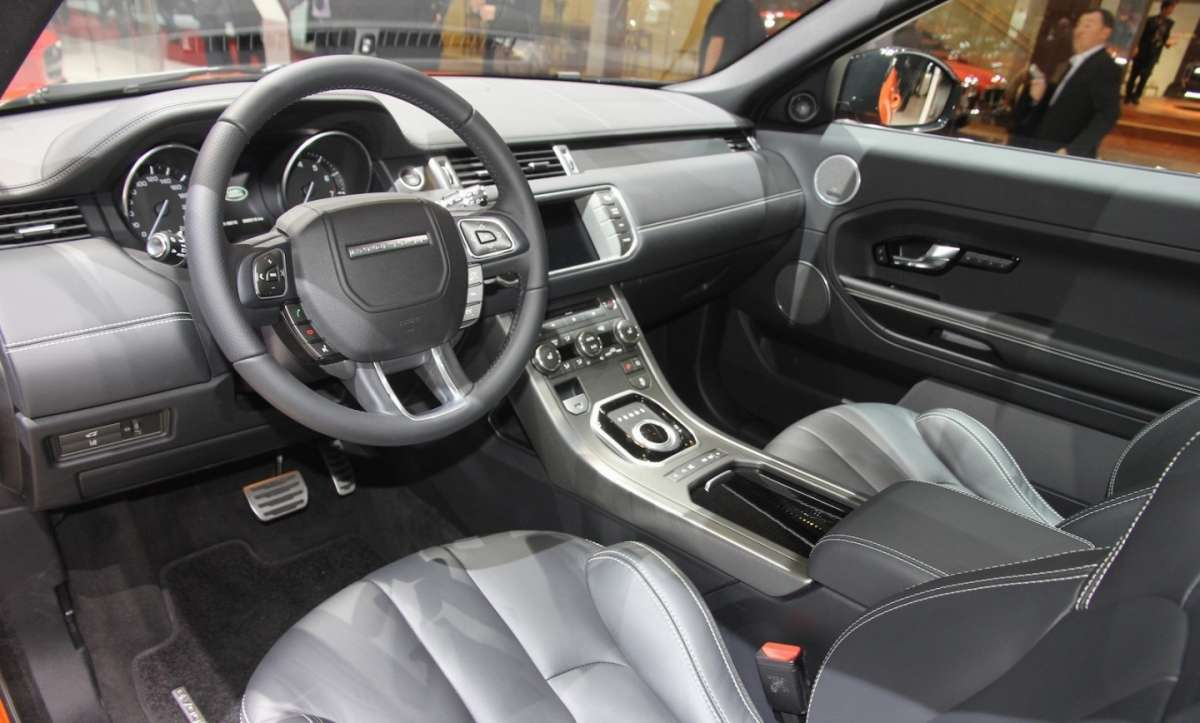 Range Rover Evoque Autobiography Dynamic interni