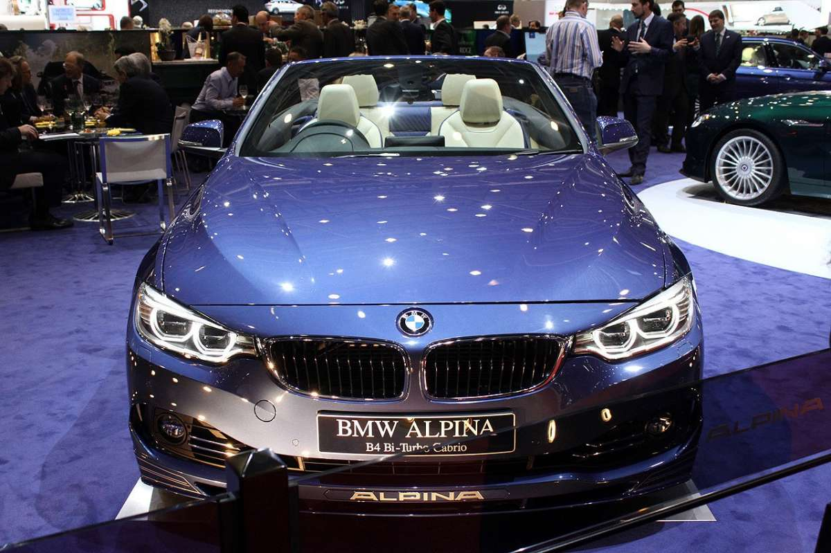 BMW Alpina B4 Bi-Turbo Cabrio muso