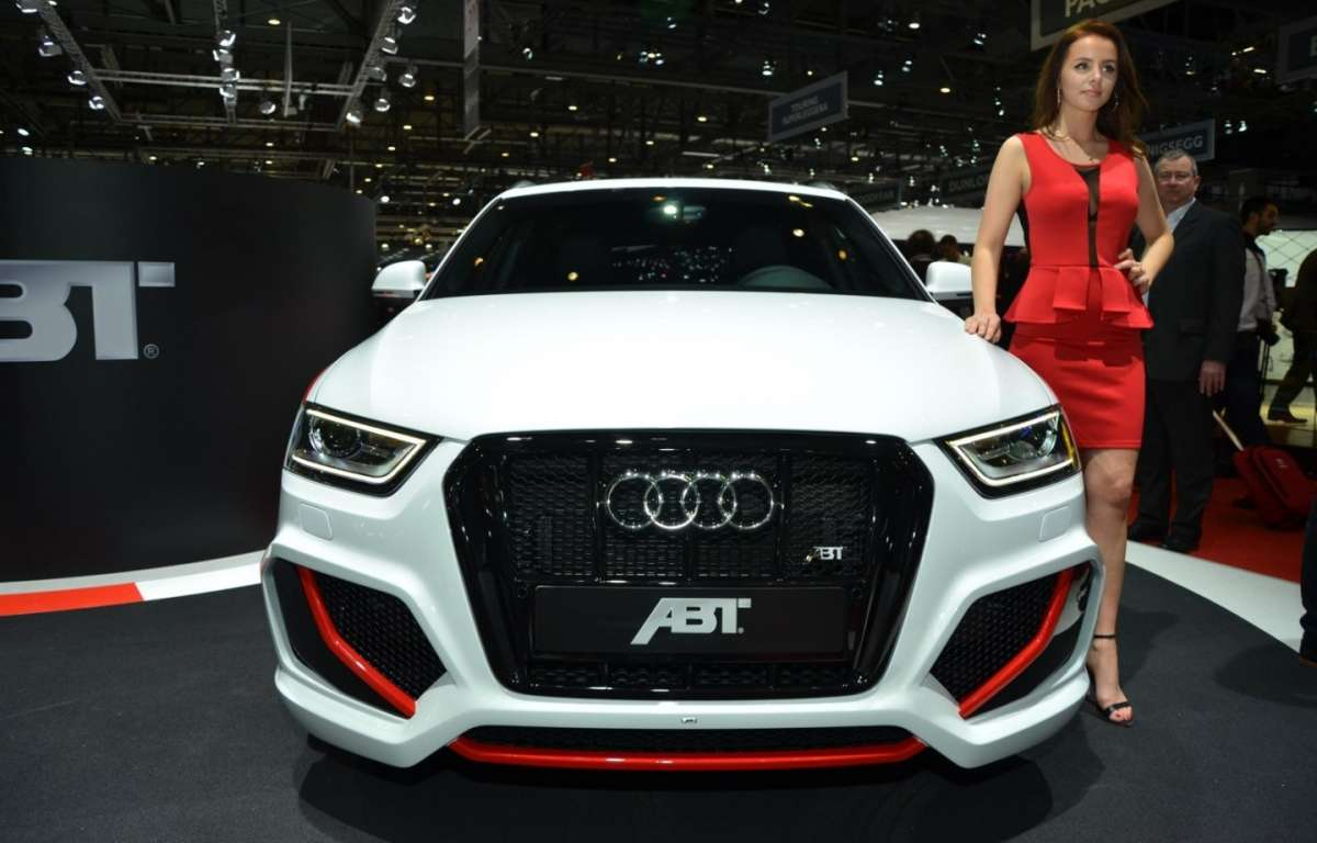 Vista da davanti Audi RS Q3 by ABT Sportsline