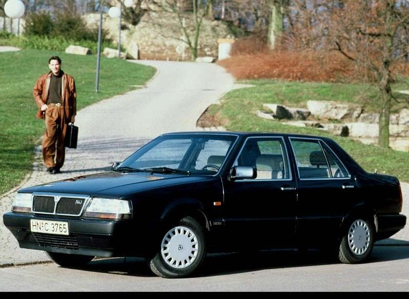 Lancia Thema seconda e terza serie (1988 - 1994)