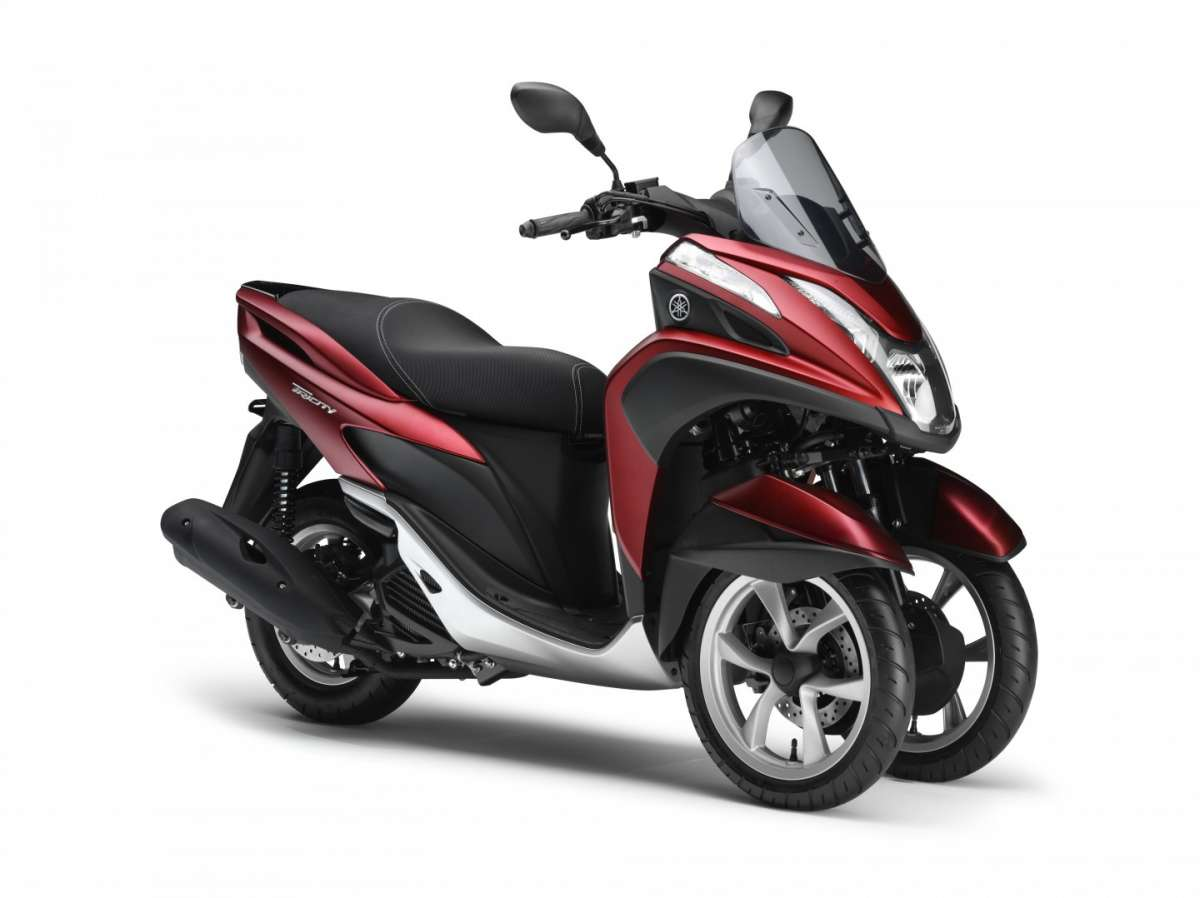 Yamaha Tricity Red 125