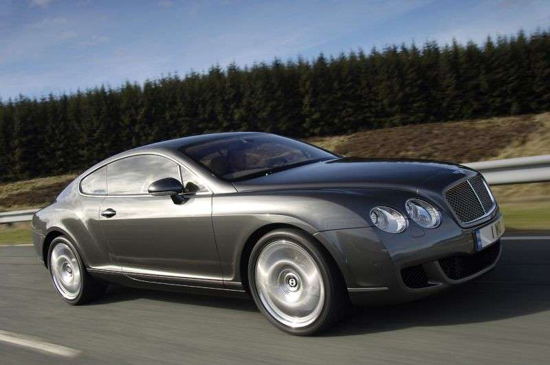 Bentley Continental GT su strada