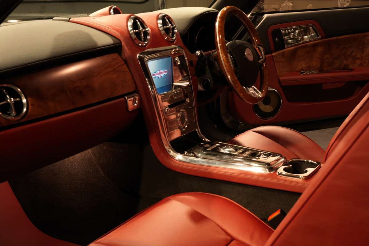 David Brown Speedback interni