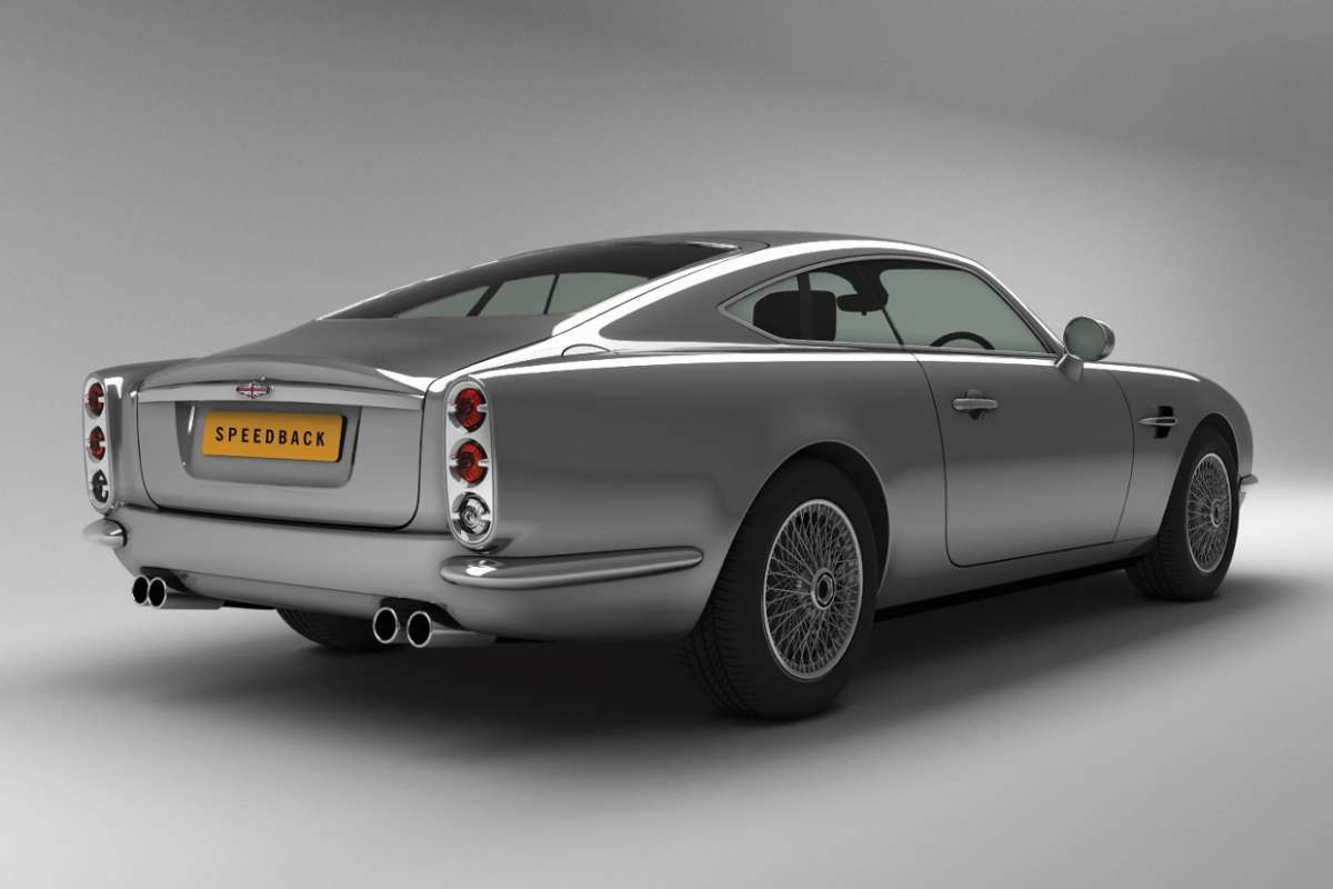 David Brown Speedback posteriore