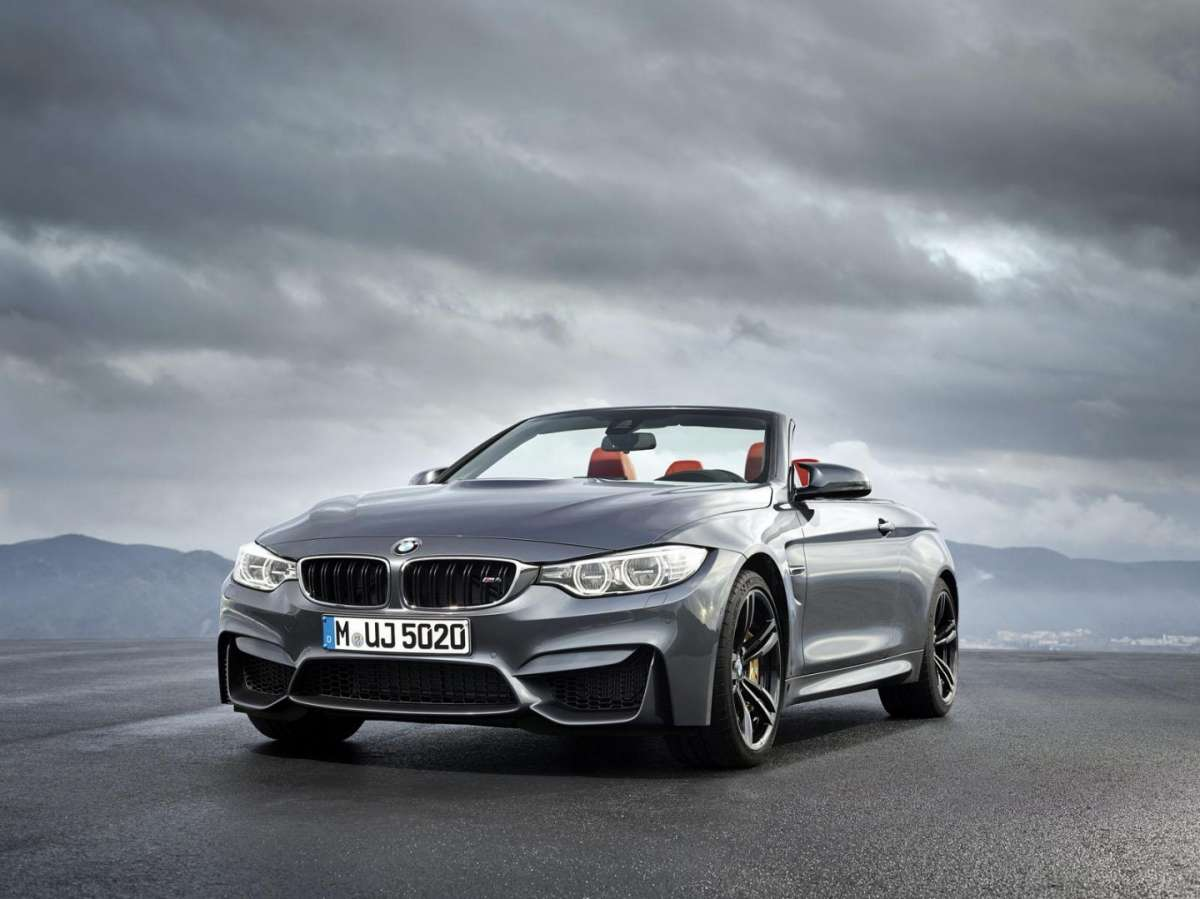 Frontale BMW M4 Cabriolet