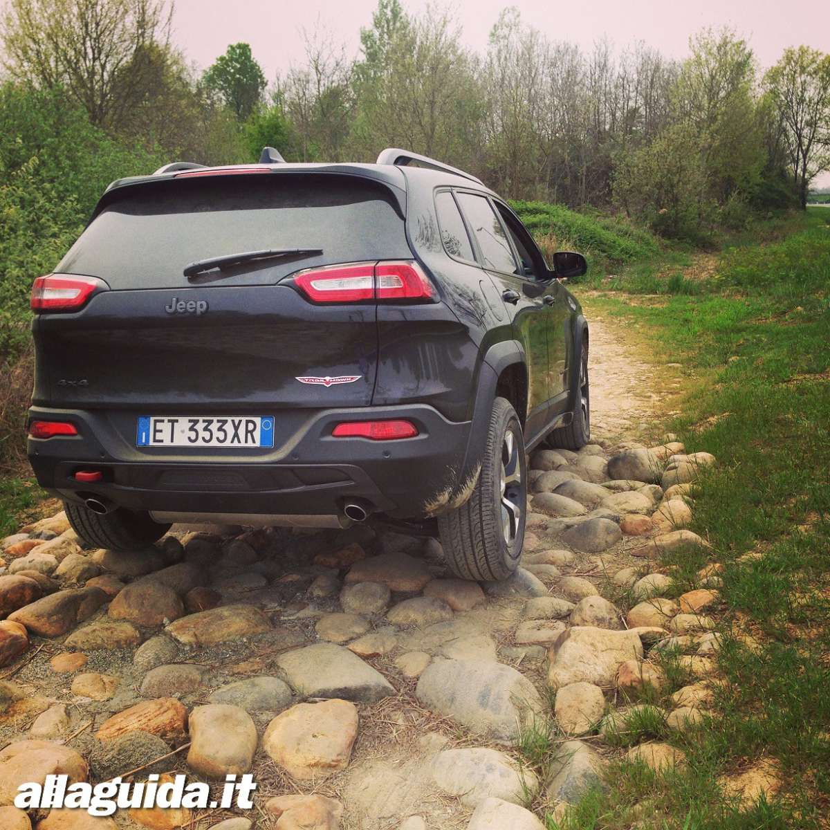 Trailhawk in fuoristrada