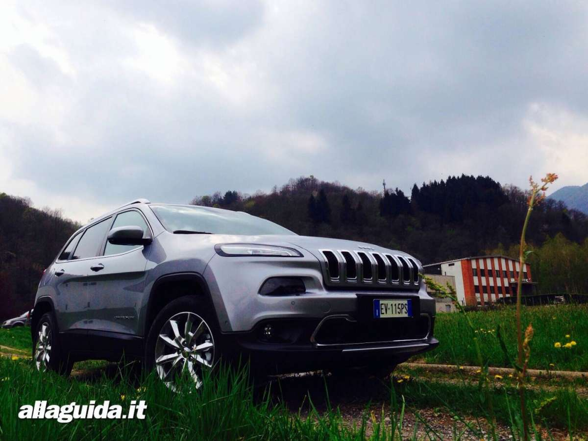 Jeep Cherokee 2014 test drive