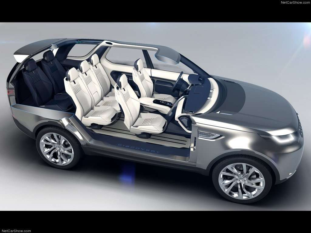 Land Rover Discovery Vision concept sette posti