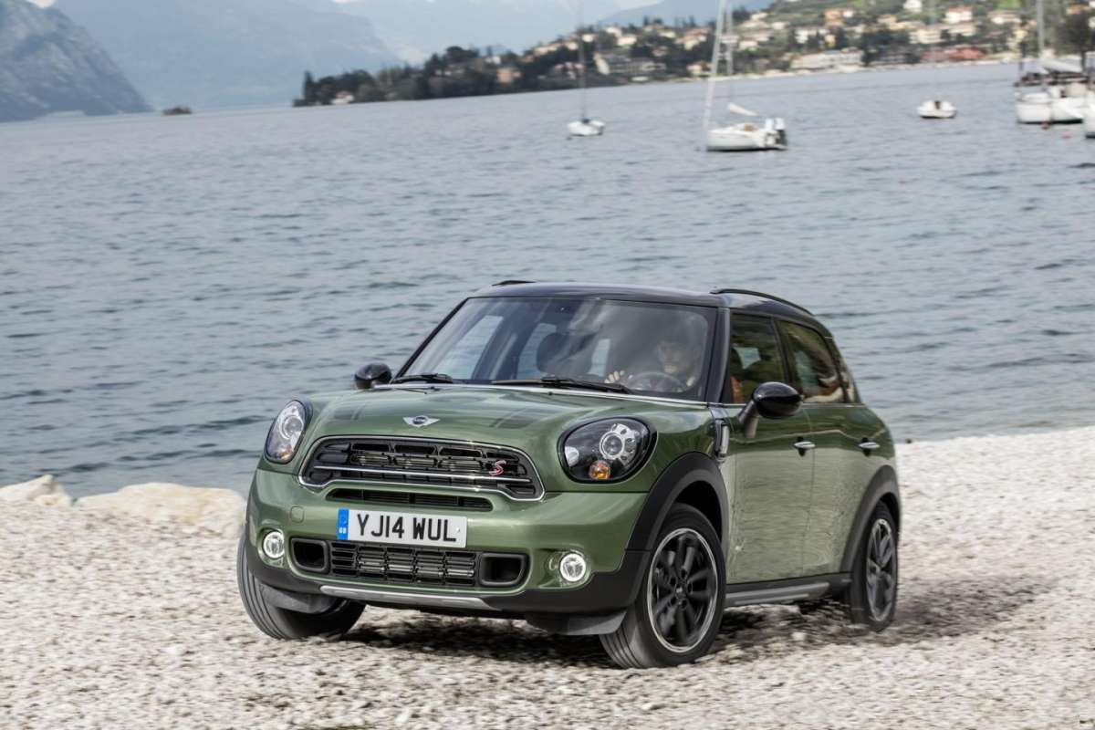 Anteriore Mini Countryman 2014