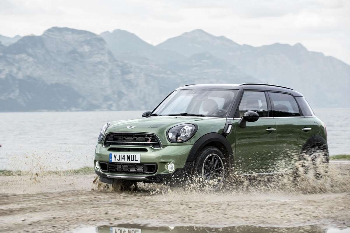 Frontale Mini Countryman 2014