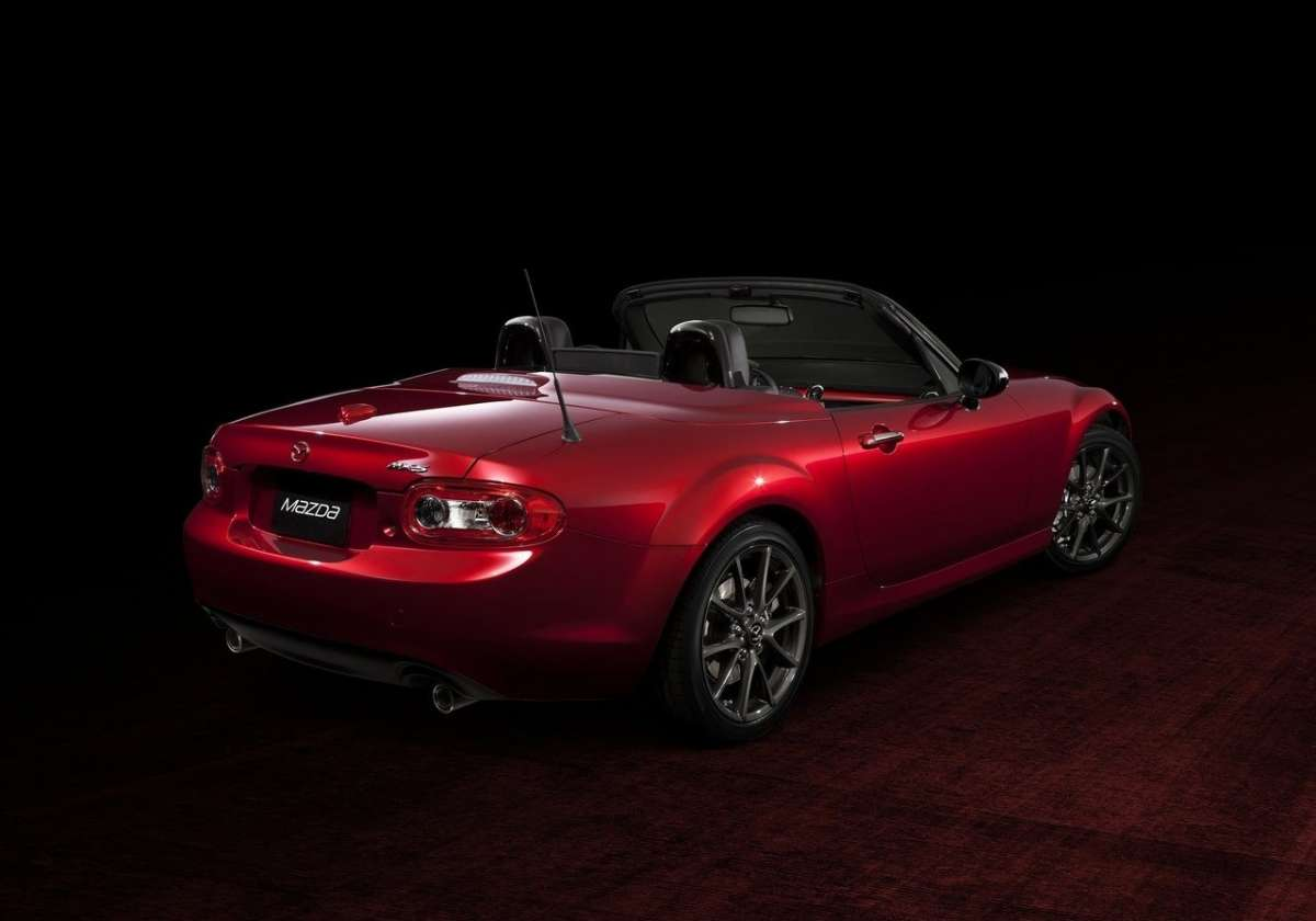Mazda MX5 senza hard top